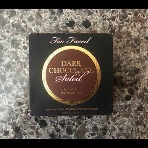 Too Faced Dark Chocolate Soleil Matte Bronzer